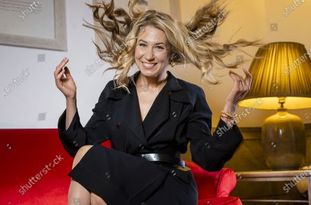 """Director Giedre Zickyte poses for portraits for the movie """"Leciens"""" (The Jump), at the Rome Film Fest, in Rome"""