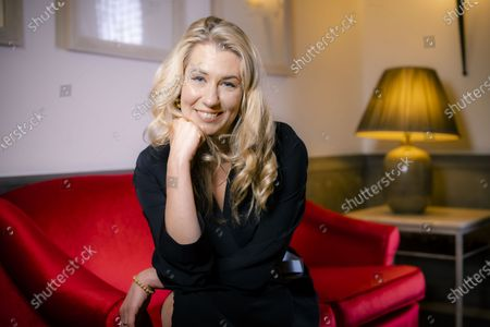 """Stock Photo of Director Giedre Zickyte poses for portraits for the movie """"Leciens"""" (The Jump), at the Rome Film Fest, in Rome"""