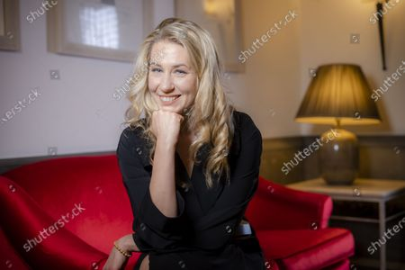 """Stock Picture of Director Giedre Zickyte poses for portraits for the movie """"Leciens"""" (The Jump), at the Rome Film Fest, in Rome"""