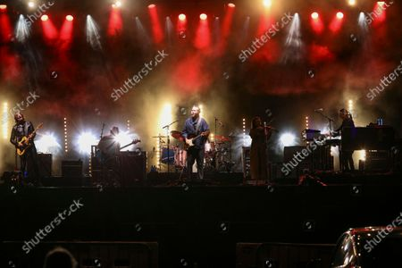 Editorial picture of Jason Isbell and The 400 Unit In Concert - , Atlanta, United States - 16 Oct 2020