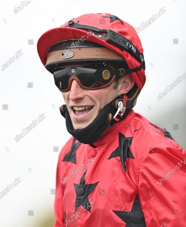 Pierre-Charles Boudot after winning The Queen Elizabeth ll Stakes on The Revenant. Photo © Hugh Routledge.