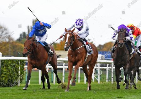 Mac Swinney & Kevin Manning winning from One Ruler (left) & Baradar (1)