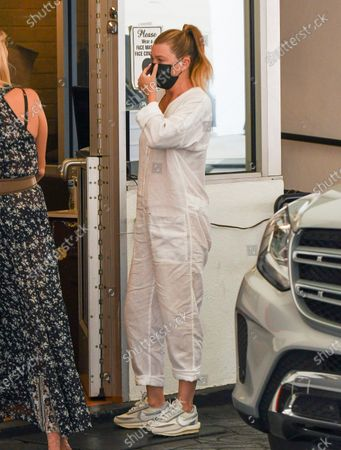 Editorial image of Ellen Pompeo out and about, Los Angeles, USA - 16 Oct 2020