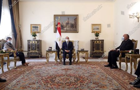 Editorial image of Spanish Foreign Minister Arancha Gonzalez Laya visit Egypt, Cairo - 17 Oct 2020
