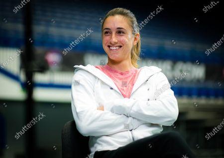 Editorial picture of J&T Banka Ostrava Open, Tennis, Ostrava, Czech Republic - 18 Oct 2020
