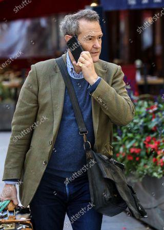 Alexander Armstrong seen departing The Global Radio Studios