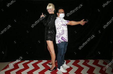 Stock Image of Eugenia Kuzmina, Jimmy Shin