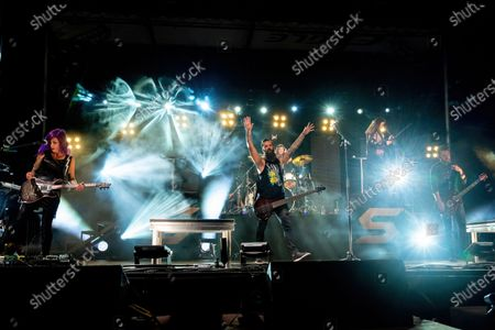 Editorial picture of Skillet in concert, Cedar Park, Texas, USA - 10 Oct 2020