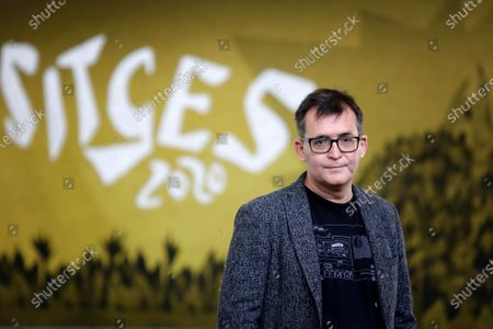 Stock Image of Sitges International Film Festival's Director, Angel Sala, poses prior the announcement of the winners of the 53rd Sitges International Fantastic Film Festival of Catalonia, in Sitges, Spain, 17 October 2020. The festival runs from 08 October to 18 October 2020.