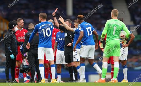 Editorial photo of Everton vs Liverpool, United Kingdom - 17 Oct 2020