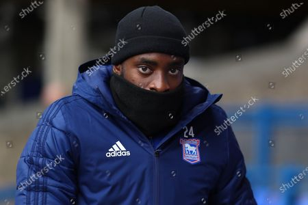 Stock Image of Kane Vincent-Young of Ipswich Town - Ipswich Town v Accrington Stanley, Sky Bet League One, Portman Road, Ipswich, UK - 17th October 2020Editorial Use Only - DataCo restrictions apply