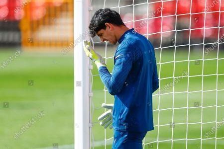 Yassine Bounou Bono of Sevilla FC during the warm up