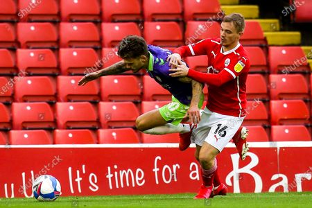 Editorial photo of Barnsley v Bristol City, UK - 17 Oct 2020