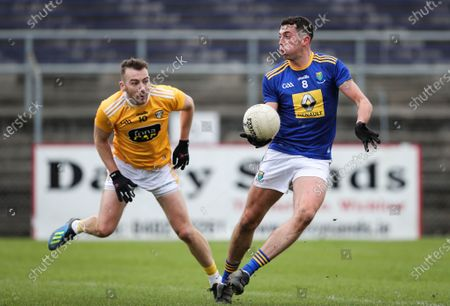 Wicklow vs Antrim. Wicklow's Pádraig O'Toole and Kevin Quinn of Antrim