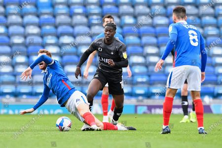 Editorial photo of Portsmouth vs Doncaster Rovers, Sky Bet EFL League 1, Football, Fratton Park, Portsmouth, Hampshire, United Kingdom - 17 Oct 2020