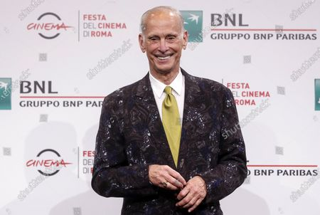 John Waters poses during a photocall at the 15th annual Rome International Film Festival, in Rome, Italy, 17 October 2020. The film festival runs from 15 to 25 October.