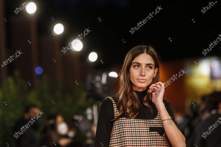Stock Photo of Virginia Valsecchi poses for the screening of 'Mi chiamo Francesco Totti' at the 15th annual Rome International Film Festival, in Rome, Italy, 17 October 2020. The film festival runs from 15 to 25 October.