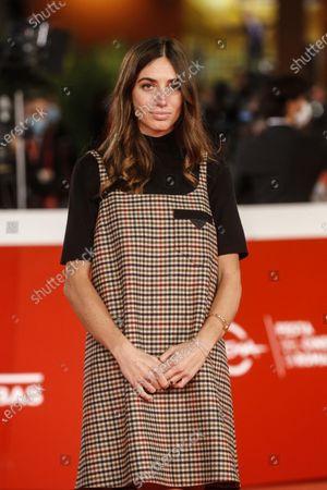 Virginia Valsecchi poses for the screening of 'Mi chiamo Francesco Totti' at the 15th annual Rome International Film Festival, in Rome, Italy, 17 October 2020. The film festival runs from 15 to 25 October.