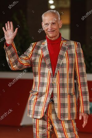 John Waters during a red carpet event at the 15th annual Rome International Film Festival, in Rome, Italy, 17 October 2020. The film festival runs from 15 to 25 October.