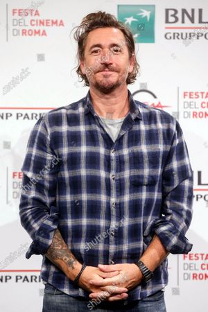 Italian filmaker Alex Infascelli poses during the photocall of the movie 'Mi chiamo Francesco Totti' at the 15th annual Rome International Film Festival, in Rome, Italy, 17 October 2020. The film festival runs from 15 to 25 October.