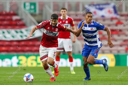 Editorial picture of Middlesbrough v Reading, EFL Sky Bet Championship - 17 Oct 2020