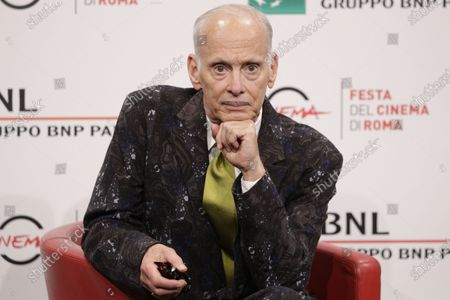 John Waters poses for photographers during a photo call at the Rome Film Fest, in Rome