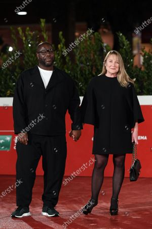Director Steve McQueen and Bianca Stigter