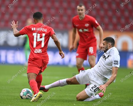 Editorial photo of FC Augsburg vs RB Leipzig, Germany - 17 Oct 2020