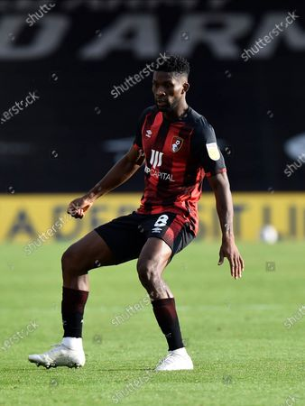 Jefferson Lerma (8) of AFC Bournemouth during the EFL Sky Bet Championship match between Bournemouth and Queens Park Rangers at the Vitality Stadium, Bournemouth