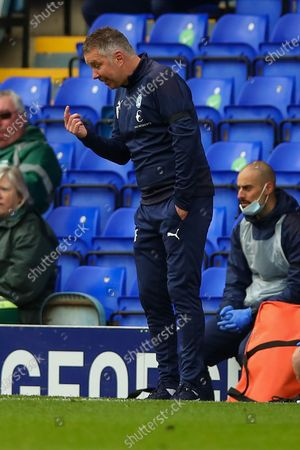 Peterborough Utd Manager Darren Ferguson during the EFL Sky Bet League 1 match between Peterborough United and Oxford United at London Road, Peterborough