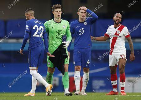 Editorial image of Chelsea vs Southampton, London, United Kingdom - 17 Oct 2020