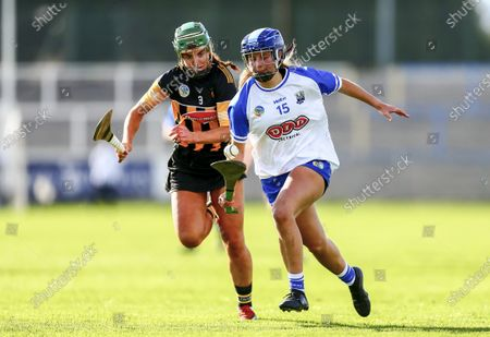 Waterford vs Kilkenny. Waterford's Annie Fitzgerald in action with Kilkenny's Colette Dormer