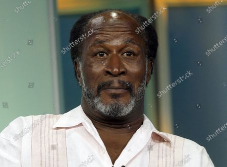 """Actor John Amos, of the new drama """"Men in Trees,"""" attends the ABC Summer Press Tour in Beverly Hills, Calif. Super Bowl MVP Eli Manning, legendary Rutgers women's basketball coach C. Vivian Stringer, """"Roots"""" and """"Good Times"""" star Amos, and actors Flip Wilson and Danny Aiello will be among those inducted into the New Jersey Hall of Fame on"""