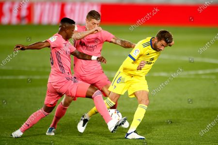 Editorial photo of Soccer: La Liga - Real Madrid v Cadiz, Valdebebas, Spain - 17 Oct 2020
