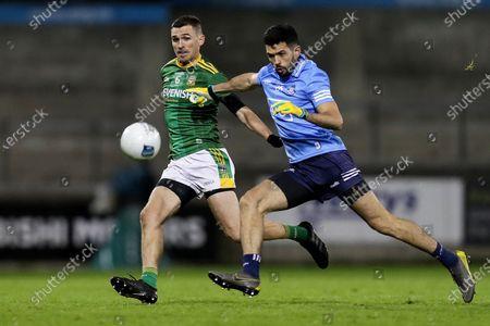 Stock Picture of Dublin vs Meath. Dublin's Cian O'Sullivan and Shane McEntee of Meath