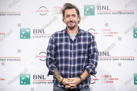 "Alex Infascelli attends the photocall of the movie ""Mi chiamo Francesco Totti"" during the 15th Rome Film Festival on October 17, 2020 in Rome, Italy"