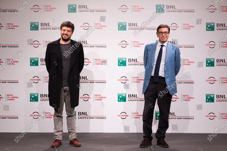 Rodrigo Fiallega and Antonio Monda