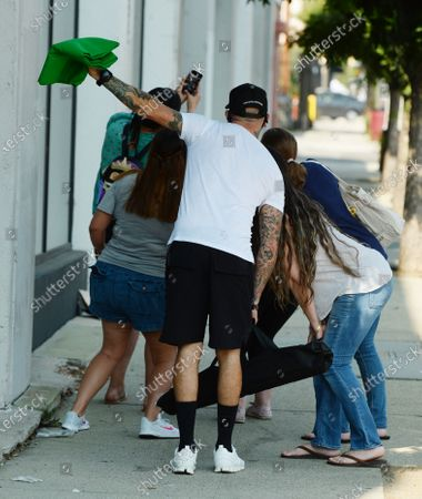 AJ McLean and Fans