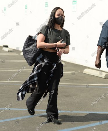 Editorial picture of 'Dancing with the Stars' TV show rehearsal, Los Angeles, California, USA - 17 Oct 2020