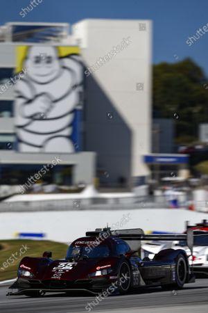 ROAD ATLANTA, UNITED STATES OF AMERICA - OCTOBER 17: #55 Mazda Team Joest Mazda DPi, DPi: Jonathan Bomarito, Harry Tincknell, Ryan Hunter-Reay during the Road Atlanta II at Road Atlanta on October 17, 2020 in Road Atlanta, United States of America. (Photo by Jake Galstad / LAT Images)