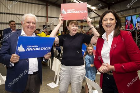 Editorial picture of Queensland Labor election campaign launch in Brisbane, Australia - 18 Oct 2020