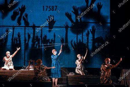 Editorial photo of Holocaust Play Photo Gallery, Bucharest, Romania - 15 Oct 2020