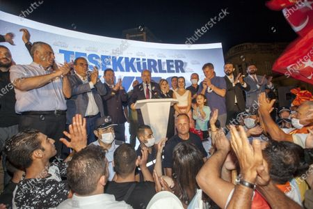Editorial picture of Turkish Cypriot Presidential election, Nicosia, Cyprus - 18 Oct 2020