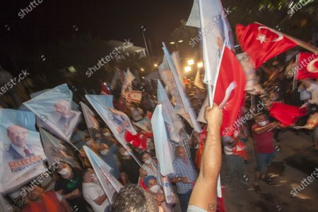 Editorial photo of Turkish Cypriot Presidential election, Nicosia, Cyprus - 18 Oct 2020
