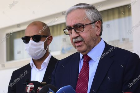 Editorial image of Turkish Cypriot Election, Nicosia, Cyprus - 18 Oct 2020