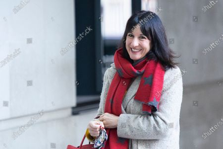 Stock Photo of Shadow Chancellor of the Duchy of Lancaster Rachel Reeves arrives at the BBC. Later she will appear on the Andrew Marr Show.