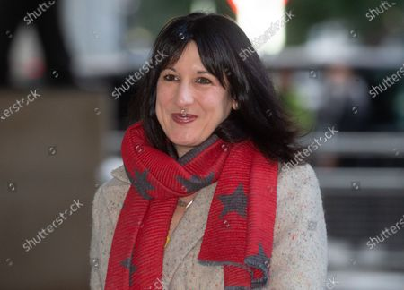 Rachel Reeves, Shadow Chancellor of the Duchy of Lancaster, arrives at the BBC Studios.