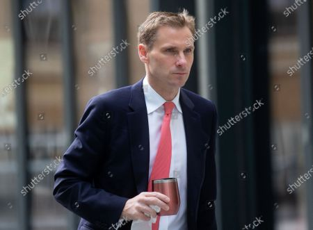 Chris Philp, MP for Croydon South, arrives at the BBC Studios