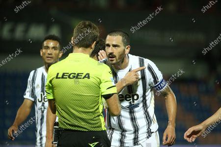 Leonardo Bonucci of Juventus penalty foul