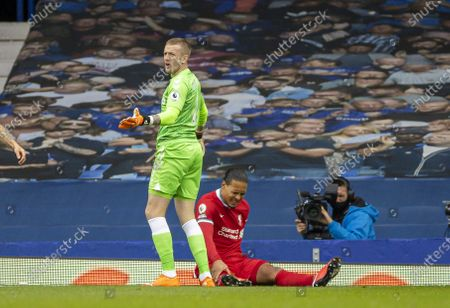 Editorial image of Britain Liverpool Football Premier League Everton Fc vs Liverpool Fc - 17 Oct 2020